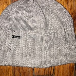 Grey Calvin Klein winter hat